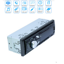 1Din 12V Car In-dash Radio Bluetooth Stereo Mp3 Music Player Fm/Tf/ Aux/Usb