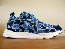 RARE Men's Reebok Furylite Blue Duck Camo Sneakers sz 11 shoes classic iverson