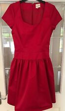 Reiss Ladies Deep Pink Structured Dress Size 6