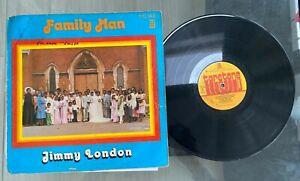 "Jimmy London ""Family Man"" 1979 Nigeria Press Reggae LP Taretone"
