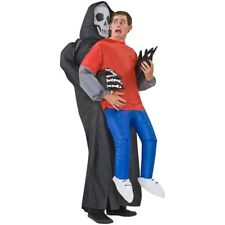 Inflatable Costume Electric Halloween Party Outfit Ghost Grim Reaper