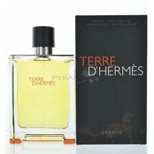 Terre D'hermes By Hermes For Men Pure Perfume 6.7 Oz 200 Ml Spray