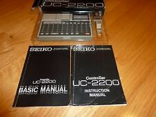 RARE!!! SEIKO UC-2200 UC-2000 Computer Watc 1980s Great Condition Full Set works