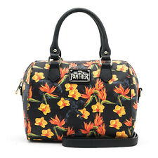 Loungefly Marvel Black Panther Floral Duffle Purse Bag NEW Carrier