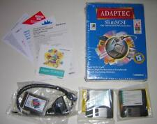 Adaptec SlimSCSI PCMCIA SCSI Adapter PC Card 1460A with Cable & Software NEW