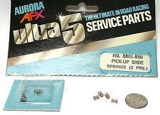4pc 1977 Aurora AFX SpeedSteer Ultra5 PICKUP SHOE SPRINGS 2pr Service Part #3801