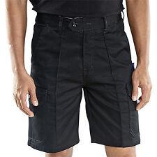 Super Click Workwear Shorts Cargo Pocket Black 46 Ref CLCPSBL46