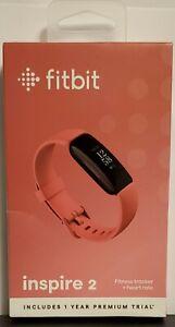Fitbit Inspire 2 HR, Heartrate, Monitor, Health & Fitness Tracker. Desert Rose