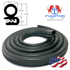 14 feet Rubber Car Door Seal Weatherstrip Body Mounted Front Left or Right
