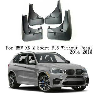 OEM Splash MudGuards Mud Flaps For BMW X5 M Sport F15 Without Pedal 2014-2018