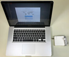 "Apple MacBook Pro 15"" Glossy A1286 2.66GHz Core i7 4GB RAM 1TB SSHD 10.13 2010"