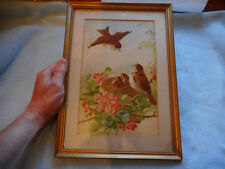 Watercolour Small (up to 12in.) Birds Art Paintings