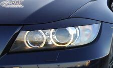 RDX Scheinwerferblenden BMW 3er E90 / E91 Böser Blick Blenden Spoiler Tuning