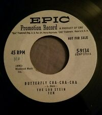 The Lou Stein Ten WLP promo 45 Butterfly Cha Cha Cha / Lou's Tune Epic Records