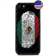 Mexico Flag Mexican Proud Hard Rubber Case For iPhone 11 Pro Max Xs XR 8 Plus 7
