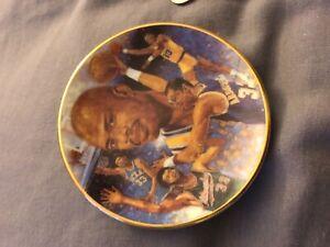 "1989 Kareem Abdul Jabber Gartlan VERY Limited Edition Mini Plate 3"" NBA LAKERS"