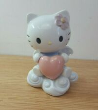 Nao (Lladro) Porcelain Hello Kitty Figure 2011 Angel wings with Heart VGC