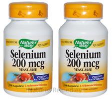 Nature's Way Selenium 200 mcg 200 capsules