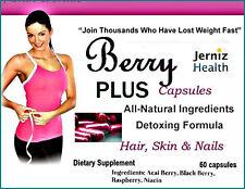 New Berry Juice Capsules plus Vitamins-60 capsules-1 month supply Diet Pills
