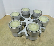 Fisher Scientific Centrifuge Rotor 04 976 007 With 6 Iec 51138 Buckets Amp Inserts