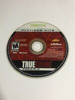 True Crime: Streets of L.A. (Microsoft Xbox, 2003) - DISC ONLY
