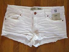 Ladies Denim Shorts Hotpants Festival Primark Blue Denim / Black UK 6-20