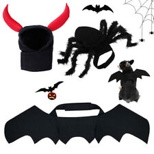 New Halloween Pet Costume Bat Wings Costumes Pet Apparel Small Dogs Cats Puppy