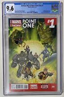 All New Marvel Now Point One 1 CGC 9.6 Ms Marvel 1st Appearance Kamala Khan 2014