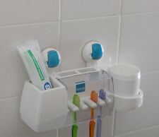 FLIP Wall Strong Suction Absorption ABS Toothbrush Holder hanger rack for bath