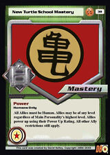Dragon Ball Z Dragonball Online DBZ Turtle School Mastery Custom Made Card