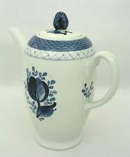 Royal Copenhagen - Tranquebar Blue - Coffee Pot - Beehive Mark