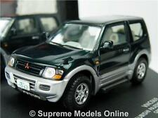 MITSUBISHI PAJERO SHOGUN MODEL CAR 1:43 SCALE VITESSE VMC069 2000 GREEN K8Q