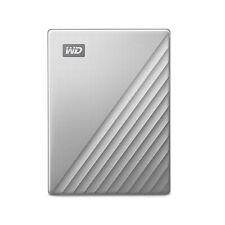 WD 2TB My Passport Ultra for Mac Silver Portable External Hard Drive, USB-C