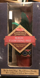 Melissa & Doug Magician's Apprentice Magic Flower Pot Ages 6 and up Rare Red