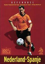 27.03.2002 Netherlands - Spain, Stadion Feijenoord (de Kuip) Rotterdam