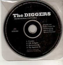 (CM673) The Diggers, Circles  - 1996 DJ CD