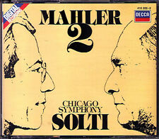 Sir Georg Solti: MAHLER SYMPHONY NO. 2 Isobel Buchanan mira Zakai Decca 1983 2cd