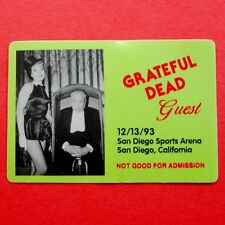 Grateful Dead Backstage Pass Alfred Hitchcock Janet Leigh San Diego 12/13/1993
