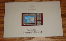 Original 2002 Mercedes Benz COMAND Owners Operators Manual 02 Audio Navigation
