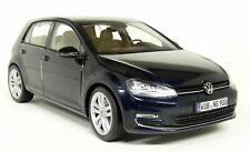 Norev 1/18 Scale - Volkswagen Golf MK7 AU Metallic Blue Diecast Model Car