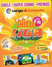 CHICLES DE LA LIGA ESTE 2018/2019 COLECCIÓN COMPLETA 80 CROMOS CON LOS QUIEN ES