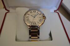 Cartier Ballon Bleu 42mm Wrist Watch Unisex W69009Z