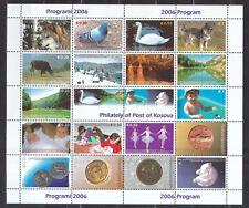 Kosovo 2006 postfrisch Zusammendruckbogen  siehe Beschreibung