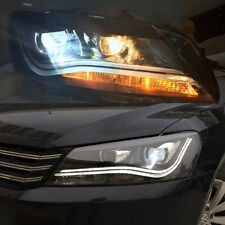 2 LED Headlights Bi Xenon Projector Lens LDV2 11-2014 year A8 Style Passat V6 B7