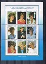 Benin postfris 1998 MNH vel/sheet 1031/1039 - Prinses Diana (25)