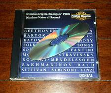 CD: V/A - Nimbus Digital Sampler 1988 Natural Sound NI 5092 UK Import Bach Haydn