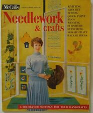 Vintage 1950s McCall's Needlework Magazine SPRING SUMMER 1959 Knitting Crochet