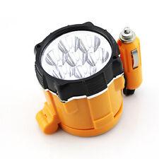 Car Cigarette Lighter 7 LED Magnetic Spotlight Torch Emergency Flash Light