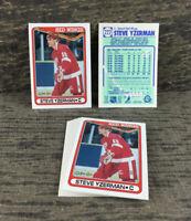 1990-91 O-Pee-Chee - Lot of 12 - Steve Yzerman #222 Detroit Red Wings NHL Hockey