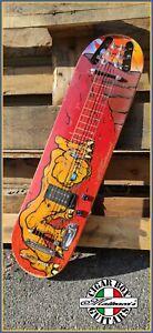 Skateboard lap steel Guitar  by Robert Matteacci